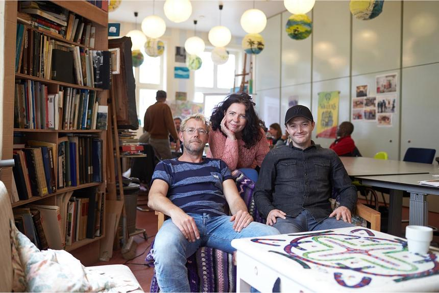 Group of people indoor
