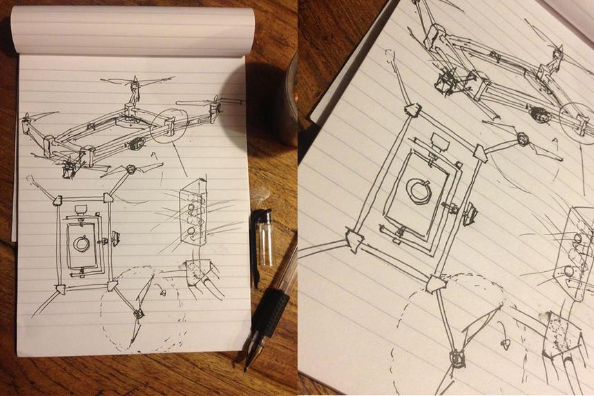 Drone-sketch